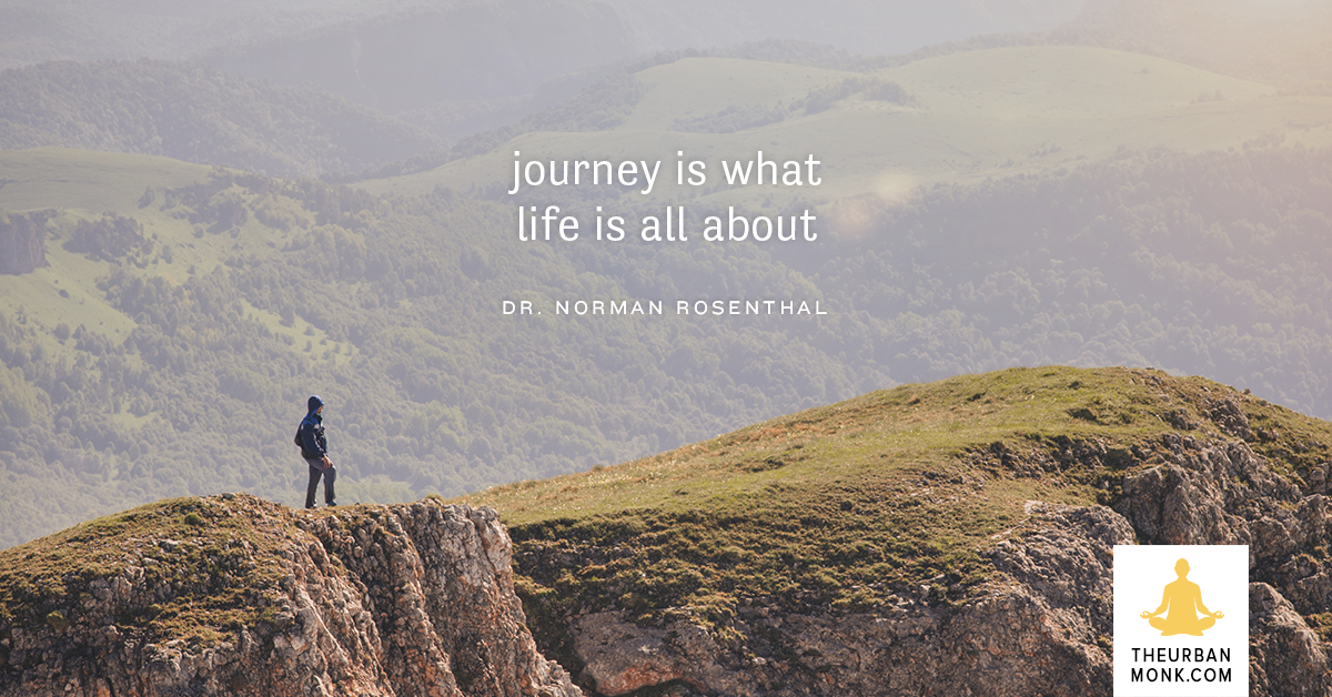 Enjoy The Journey. Enjoy Life - @DoctorNorman via @PedramShojai
