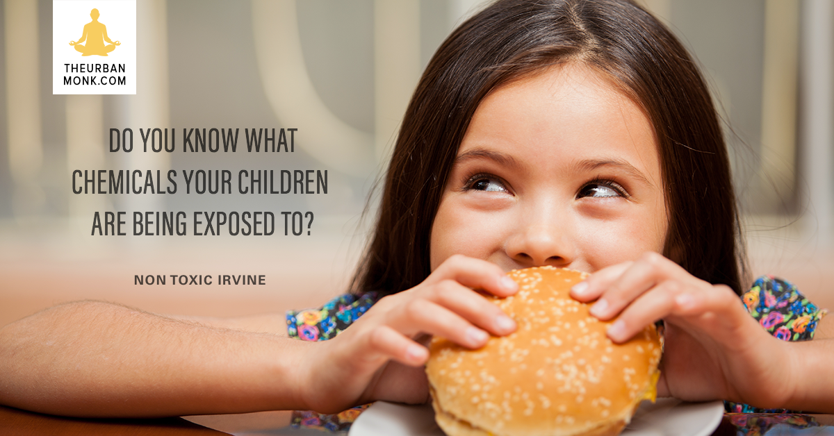 Do You Know What Chemicals Your Children Are Exposed To? - @NontoxicI via @PedramShojai
