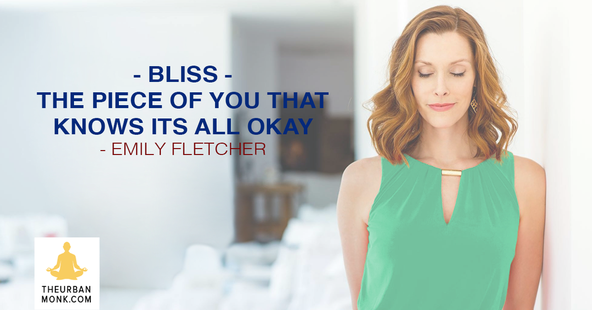 Bliss: The Piece Of You That Knows Its All Okay - @ZivaMeditation via @PedramShojai