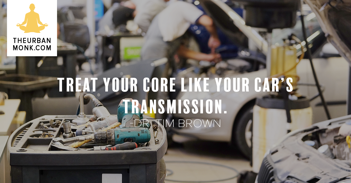 Treat Your Core Like Your Car's Transmission - @IntelliSkin via @PedramShojai