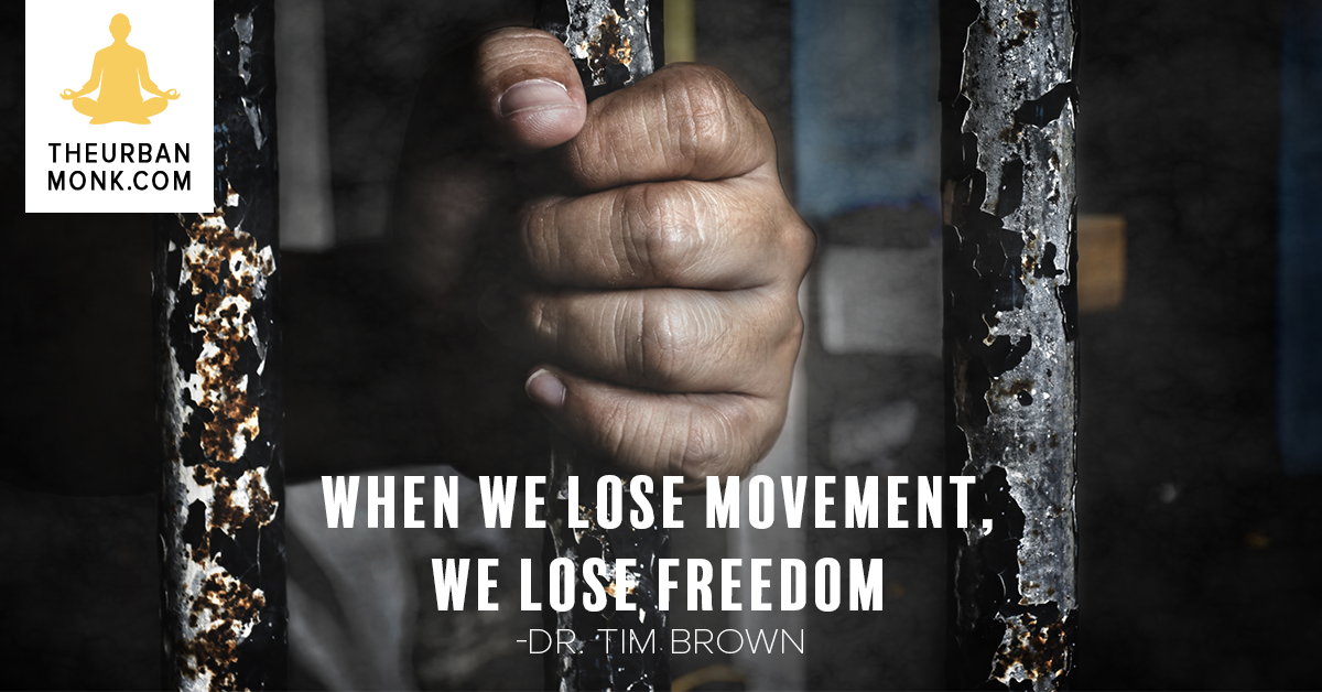When We Lose Movement, We Lose Freedom - @IntelliSkin via @PedramShojai