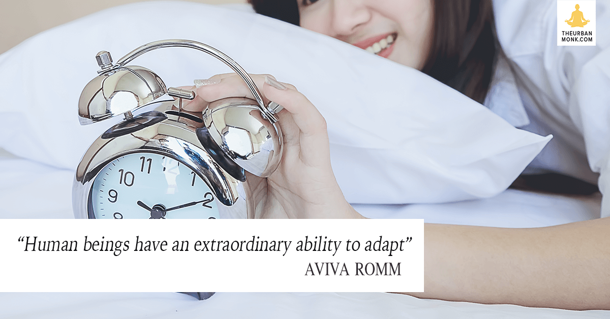 Human Beings Have An Extraordinary Ability To Adapt - @AvivaRomm via @PedramShojai