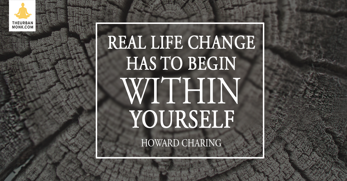 Real Life Change Has To Begin With YOURSELF - @ayahuascavision via @PedramShojai