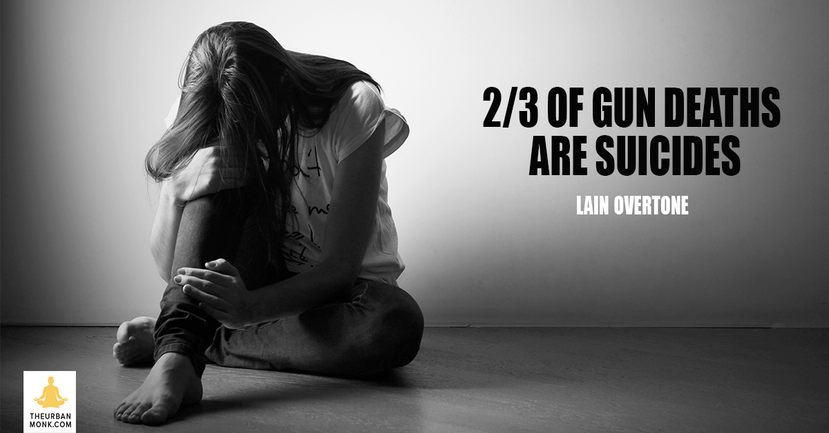 2/3 Of Gun Deaths Are Suicides - @iainoverton via @PedramShojai