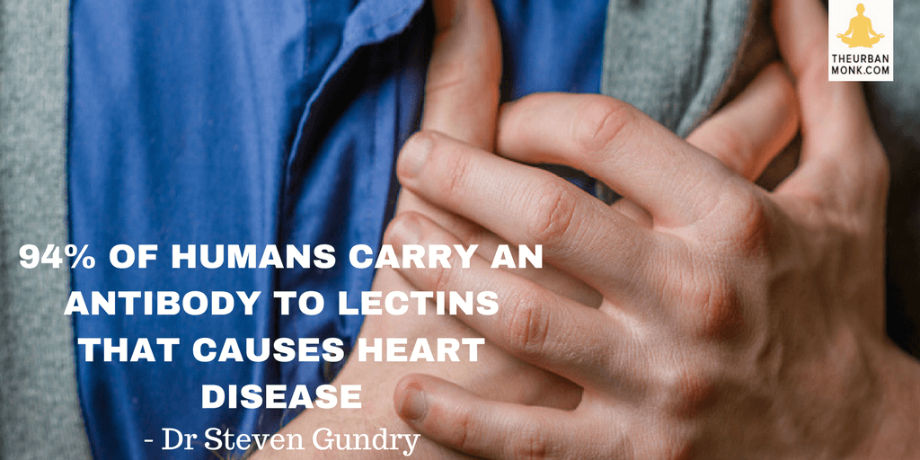 #Fact 94% of humans carry and antibody to #Lectins - @DrGundry via @PedramShojai